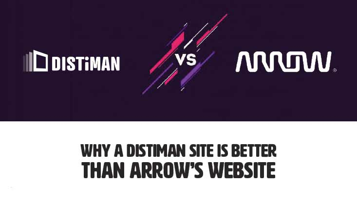 Why DISTiMAN is Better than Arrow's Website