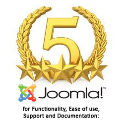 5 Star Rating from Joomla
